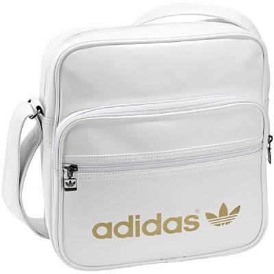 Mens White Shoulder Bag 103