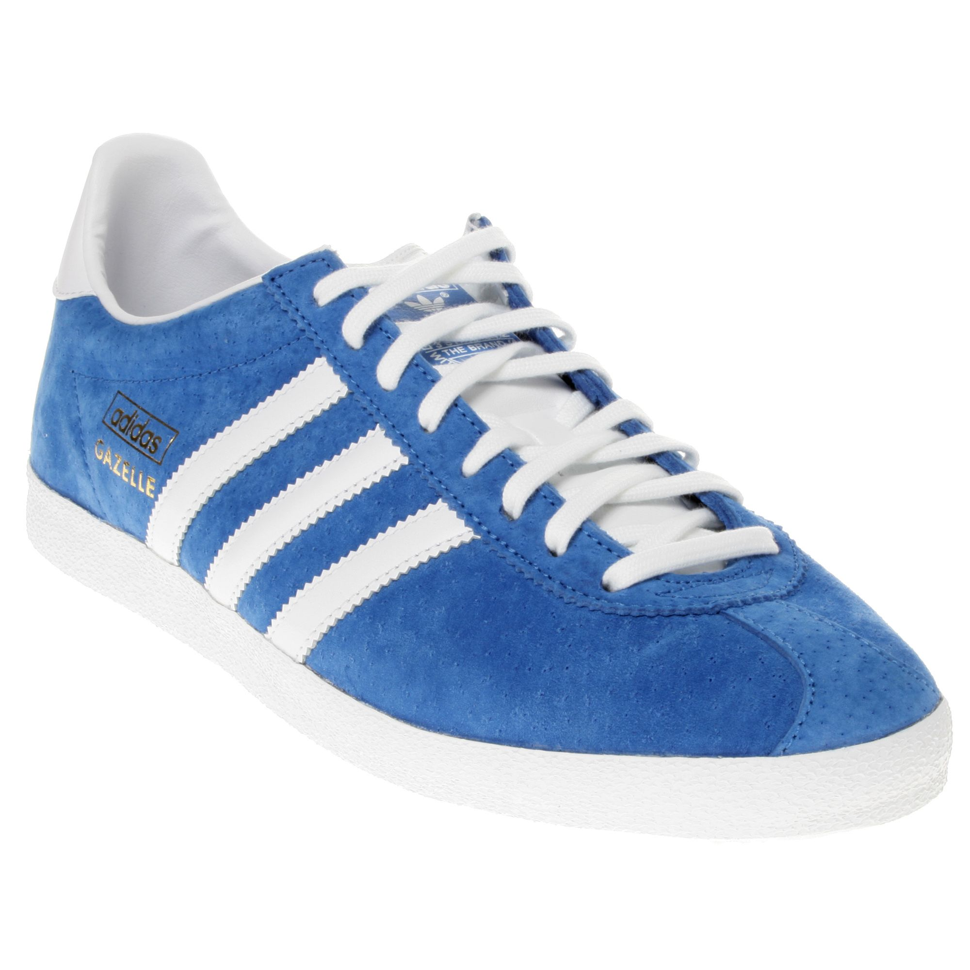 Adidas-Original-Gazelle-OG-Blue-White-New-Mens-Suede-Trainers-Shoes-Boots