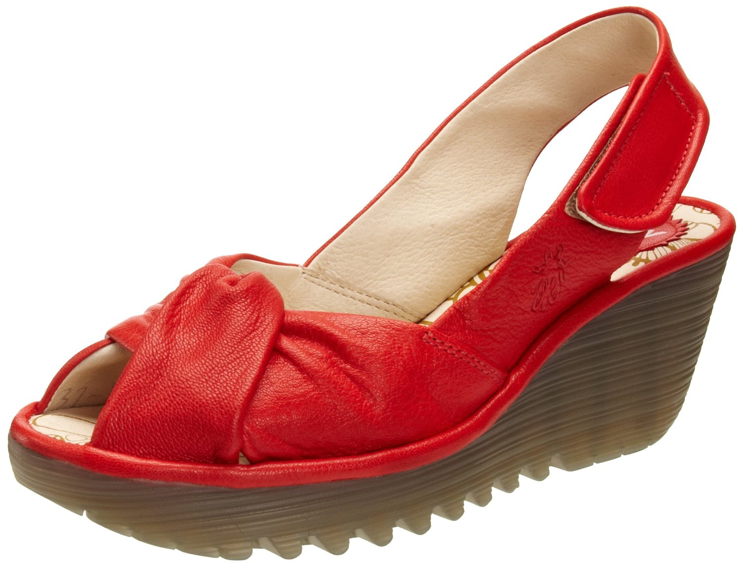 Fly London Shoes Women Red
