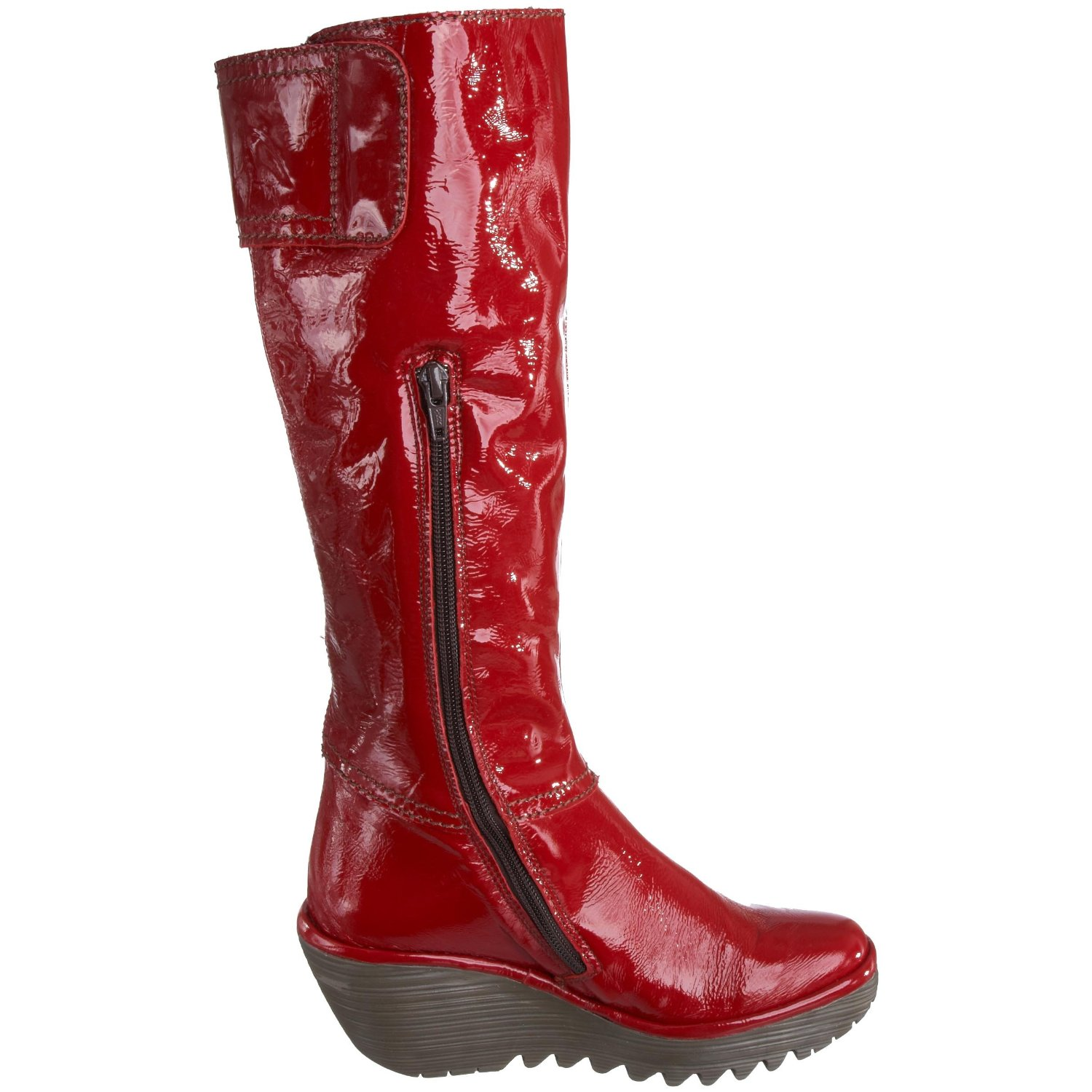 Original Book Of Womens Red Leather Boots In Spain By James | Sobatapk.com