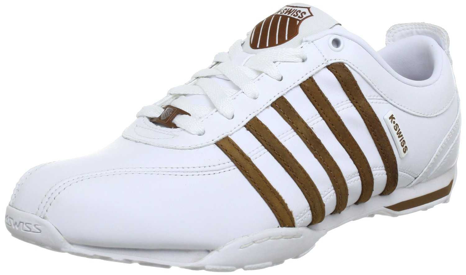 k swiss arvee 1 5 white brown new mens leather shoes