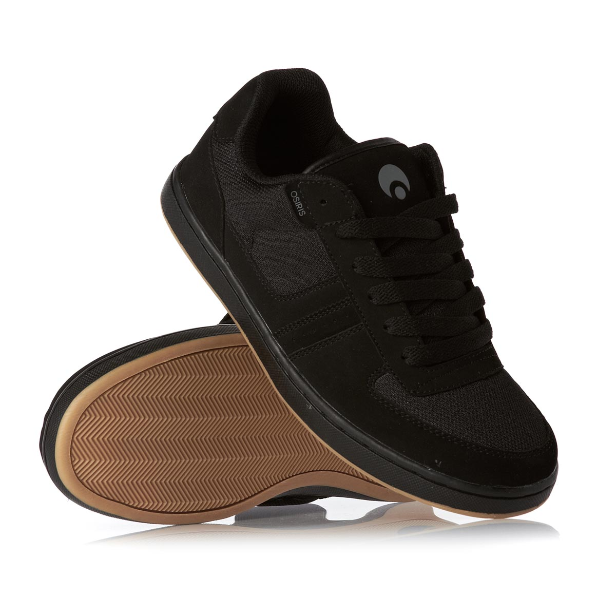 Details about Osiris Relic Black Grey Charcoal New Mens Skate Trainers