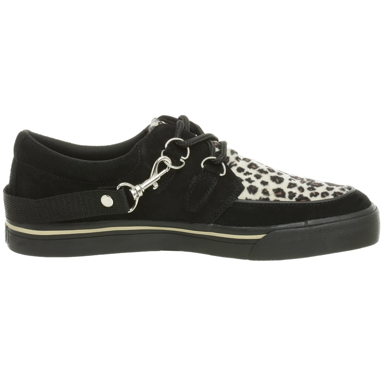 tuk a6142 leopard suede new mens womens unisex creepers