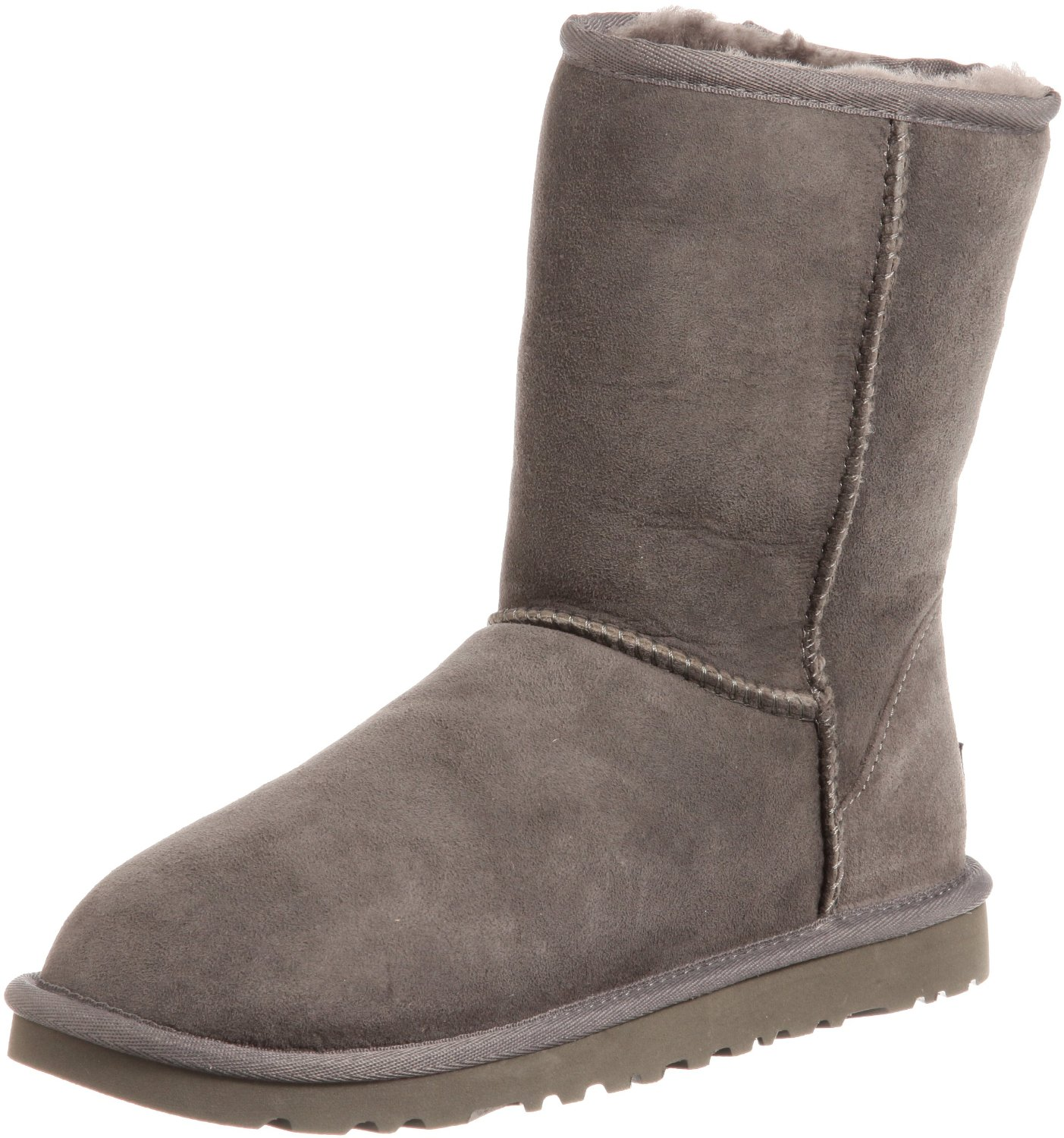 ugg classic new ankle boots shoes grey ebay