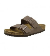 Birkenstock Arizona Brown Birko-Flor Womens Leather Sandals