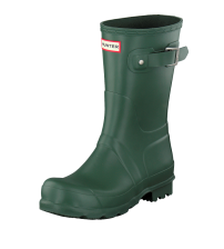 Hunter Orignal Short Hunter Green Womens Wellington Boots