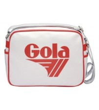 Gola Redford White Red Shoulder School Bag