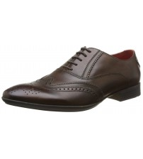 Base London Governor Brown Leather Men Formal Shoes