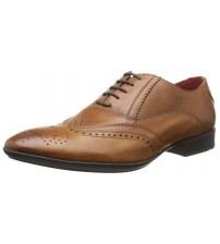 Base London Governor Tan Leather Men Formal Shoes