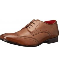 Base London Orwell Tan Leather Mens Formal Casual Shoes