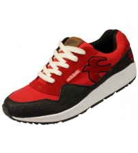 Brakeburn 9 Barrow Red Black White Leather New Men Trainers