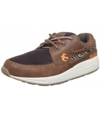 Brakeburn Five Spoke Brown White Men Trainers Shoes Boots