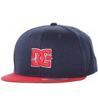 DC Snappy Navy Red Green Cap