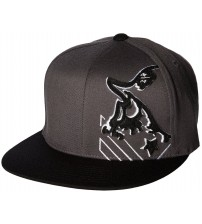 Metal Mulisha Dodge Charcoal Black Flexfit Hat Cap
