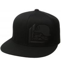 Metal Mulisha Exiled Black Flexfit Hat Cap