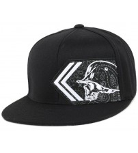 Metal Mulisha Imitate Black White Flexfit Hat Cap