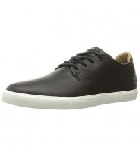 Lacoste Espere 117 Black White Leather Mens Trainers Shoes