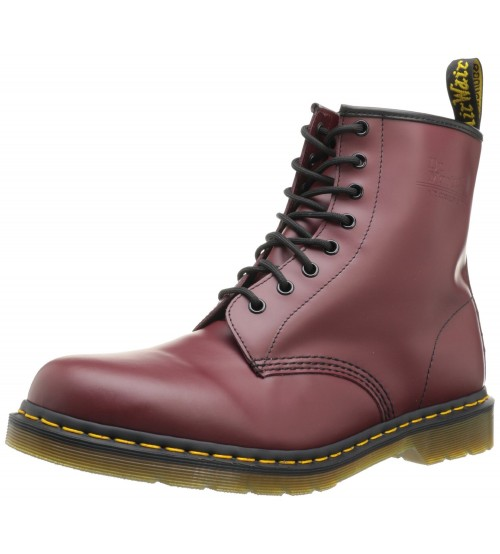 Dr Martens 1460 Cherry Red Leather New Unisex Boots