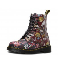 Dr Martens Pascal 1460 Multi Floral Leather 8 eyelets Womens Boots