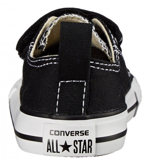 3ba9ebc608a2 Converse Chuck Taylor All Star 2 Velcro Black White Infant Canvas Trainer