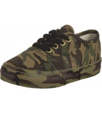 Vans Authentic Camouflage Toddlers Canvas Trainers