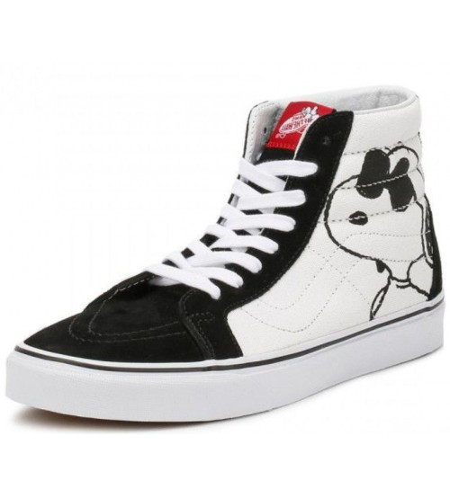 Vans x Peanuts SK8 Hi Zip Joe Cool Big Kids Trainers