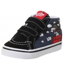Vans x Peanuts SK8 Mid Reissue V Flying Ace Kids Trainers