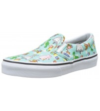 Vans Calssic Toy Story Andy's Toys Kids Slip-On Shoes