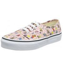 Vans x Peanuts Authentic Dance Party Pink Girls Trainers