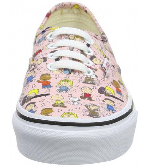 cc8ac1fa83e Vans x Peanuts Authentic Dance Party Pink Girls Trainers