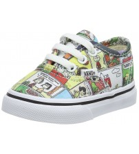Vans X Peanuts Authentic Comics Unisex Toddlers Trainers
