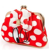 Irregular Choice I Heart Minnie Red White Womens Purse