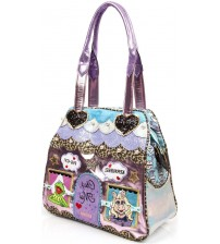 Irregular Choice X Disney The Muppets Chez Moi Pink Blue Bag