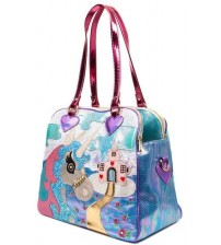 Irregular Choice King of the Castle White Multi Womens Bag