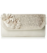 Ruby Shoo Stockholm Gold Womens Hand Clutch Bag