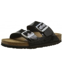 Birkenstock Arizona Magic Galaxy Black Womens Leather Sandals