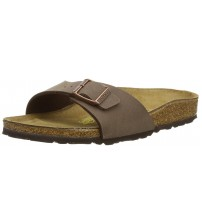 Birkenstock Madrid Brown Womens Leather Sandals Shoes