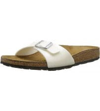 Birkenstock Madrid Magic Galaxy White Womens Leather Sandals