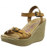 Blowfish Drivein Sand Womens Wedge Sandals Shoes