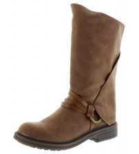 Blowfish Fenni Coffee Womens Mid Calf Boots Shoes