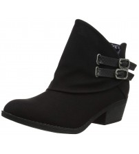 Blowfish Sistee Black Womens Ankle Boots