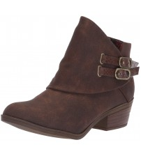 Blowfish Sistee Tobacco Rustic Womens Ankle Boots