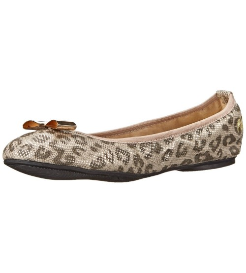 Butterfly Twists Chloe Leopard Snake Womens Ballerinas Flats Shoes