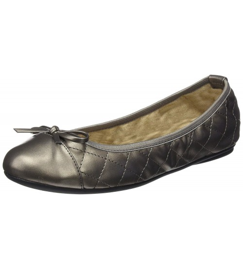 Butterfly Twists Olivia Pewter Womens Ballerinas Flats Shoes