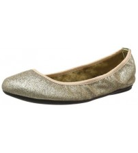 Butterfly Twists Samantha Rose Gold Womens Ballerinas Shoes