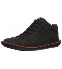 Camper Beetle 36678 Black Red Mens Leather Trainers Shoes