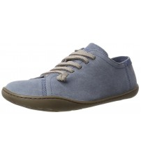 Camper Peu Cami Blue Womens Leather Lo Trainers Shoes