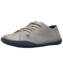 Camper Peu Cami Grey Blue Womens Leather Trainers Shoes