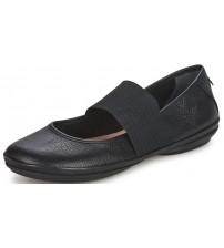 Camper Right Nina 21595 Black Womens Leather Shoes