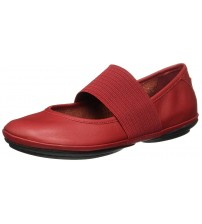 Camper Right Nina 21595 Red Womens Leather Shoes